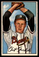 1952 Bowman #120 Chet Nichols EX/NM RC Rookie