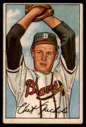 1952 Bowman #120 Chet Nichols VG Very Good RC Rookie