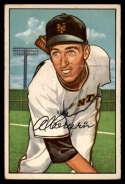 1952 Bowman #121 Al Corwin EX Excellent RC Rookie