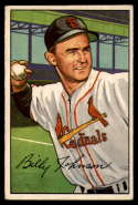 1952 Bowman #122 Billy Johnson VG/EX Very Good/Excellent