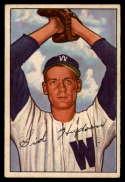 1952 Bowman #123 Sid Hudson VG Very Good