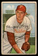 1952 Bowman #125 Howie Fox VG Very Good