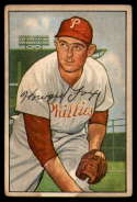 1952 Bowman #125 Howie Fox G/VG Good/Very Good