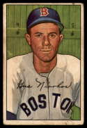 1952 Bowman #129 Gus Niarhos VG Very Good