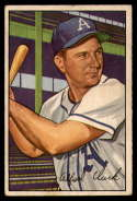 1952 Bowman #130 Allie Clark VG/EX Very Good/Excellent