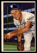 1952 Bowman #135 Mickey Harris VG/EX Very Good/Excellent