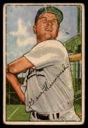 1952 Bowman #136 Gene Hermanski G/VG Good/Very Good