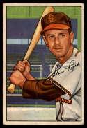 1952 Bowman #137 Stan Rojek VG Very Good