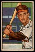 1952 Bowman #137 Stan Rojek VG/EX Very Good/Excellent