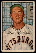 1952 Bowman #138 Ted Wilks P Poor