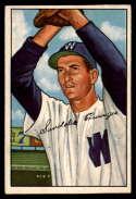 1952 Bowman #143 Sandy Consuegra EX Excellent