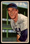 1952 Bowman #144 Joe Hatton mark