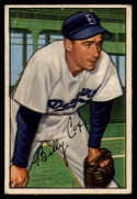 1952 Bowman #152 Billy Cox hole