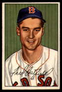 1952 Bowman #153 Fred Hatfield VG/EX Very Good/Excellent RC Rookie