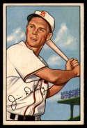 1952 Bowman #157 Jim Delsing EX Excellent