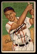 1952 Bowman #160 Eddie Stanky VG Very Good