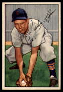 1952 Bowman #163 Johnny Lipon VG/EX Very Good/Excellent