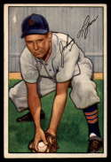 1952 Bowman #163 Johnny Lipon VG Very Good