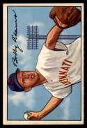 1952 Bowman #166 Bobby Adams EX/NM
