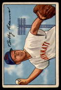 1952 Bowman #166 Bobby Adams VG Very Good