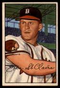1952 Bowman #172 Ebba St. Claire EX Excellent RC Rookie