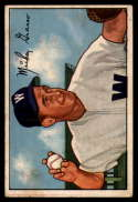 1952 Bowman #174 Mickey Grasso VG/EX Very Good/Excellent