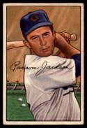 1952 Bowman #175 Randy Jackson VG Very Good RC Rookie