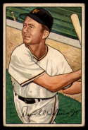1952 Bowman #178 Dave Williams VG Very Good RC Rookie