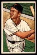1952 Bowman #178 Dave Williams EX Excellent RC Rookie
