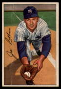 1952 Bowman #181 Joe Collins VG Very Good RC Rookie