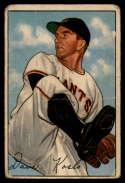 1952 Bowman #182 Dave Koslo G Good