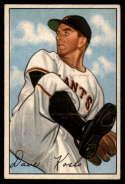 1952 Bowman #182 Dave Koslo VG/EX Very Good/Excellent