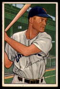 1952 Bowman #185 Bud Stewart VG Very Good