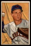 1952 Bowman #187 Jim Hegan VG/EX Very Good/Excellent