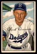 1952 Bowman #188 Chuck Dressen MG EX Excellent