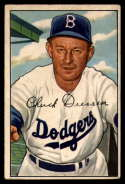 1952 Bowman #188 Chuck Dressen MG VG Very Good