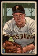 1952 Bowman #191 Bob Friend VG Very Good RC Rookie