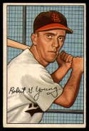 1952 Bowman #193 Bobby Young EX Excellent RC Rookie