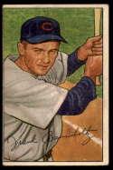 1952 Bowman #195 Frank Baumholtz UER VG Very Good