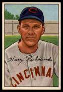 1952 Bowman #202 Harry Perkowski VG/EX Very Good/Excellent RC Rookie