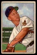1952 Bowman #203 Steve Gromek VG Very Good