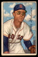 1952 Bowman #205 Walt Masterson G/VG Good/Very Good