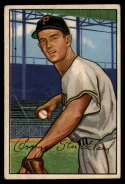 1952 Bowman #207 George Strickland VG Very Good RC Rookie