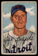 1952 Bowman #209 Dick Littlefield G/VG Good/Very Good RC Rookie