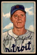 1952 Bowman #209 Dick Littlefield VG Very Good RC Rookie