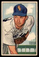 1952 Bowman #221 Lou Kretlow mark RC Rookie