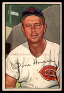 1952 Bowman #222 Homer Howell VG/EX Very Good/Excellent