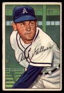 1952 Bowman #226 Alex Kellner VG Very Good