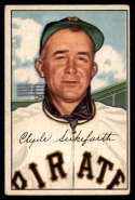 1952 Bowman #227 Clyde Sukeforth CO VG Very Good RC Rookie