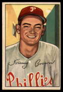 1952 Bowman #236 Tommy Brown EX Excellent